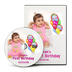 Slideshow for first birthday