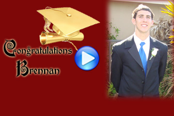 Custom Graduation Slideshow DVD