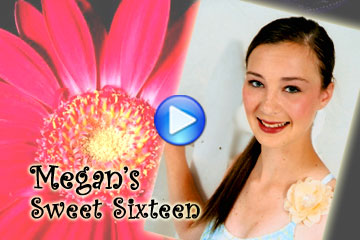 Sweet Sixteen Slideshow DVD